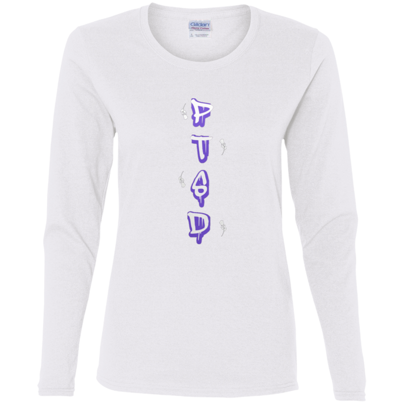 PTSD DOMESTIC VIOLENCE by Wisam Ladies' Cotton Long sleeve T-Shirt