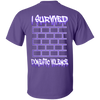 PTSD by Wisam DOMESTIC VIOLENCE women's T-Shirt - SW@gSpot