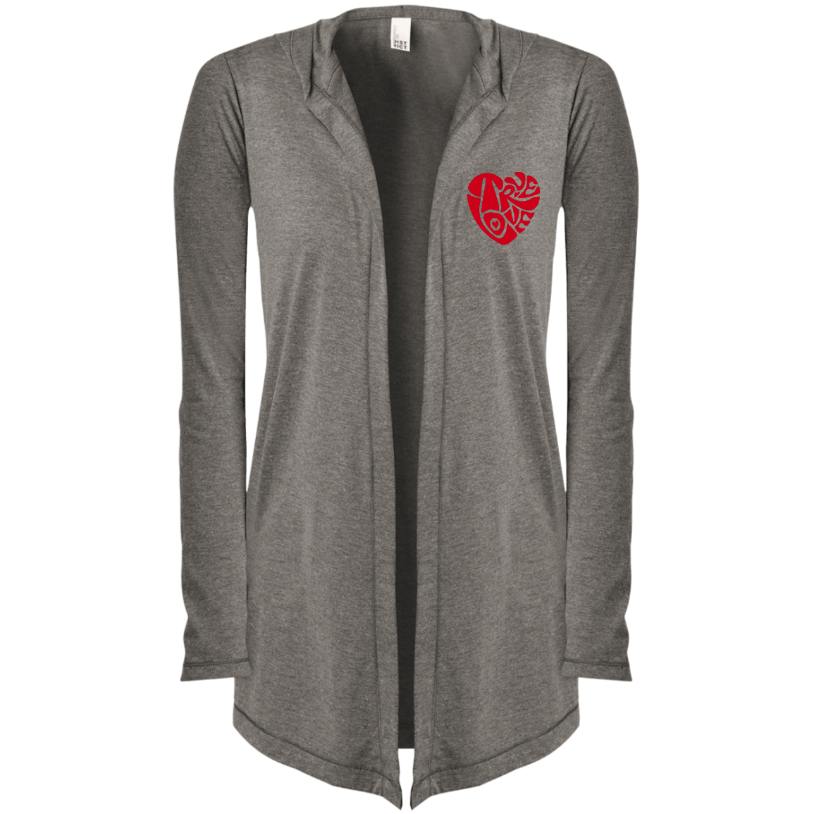 TRUE LOVE by Wisam Women's Hooded Cardigan - SW@gSpot