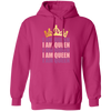 I AM QUEEN by Wisam WOMENS Pullover Hoodie - SW@gSpot