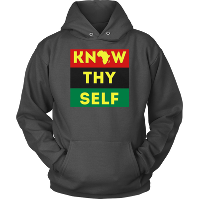 Know Thyself Yellow Unisex Hoodie - SW@gSpot