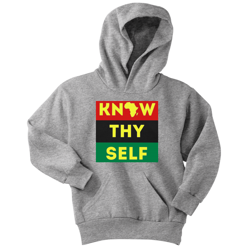 Know Thyself Yellow Youth Unisex Hoodie