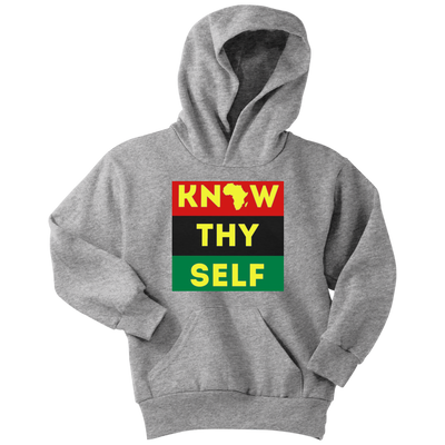 Know Thyself Yellow Youth Unisex Hoodie - SW@gSpot