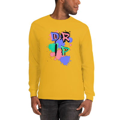 Drip Pastel Unisex Long Sleeve Shirt - SW@gSpot