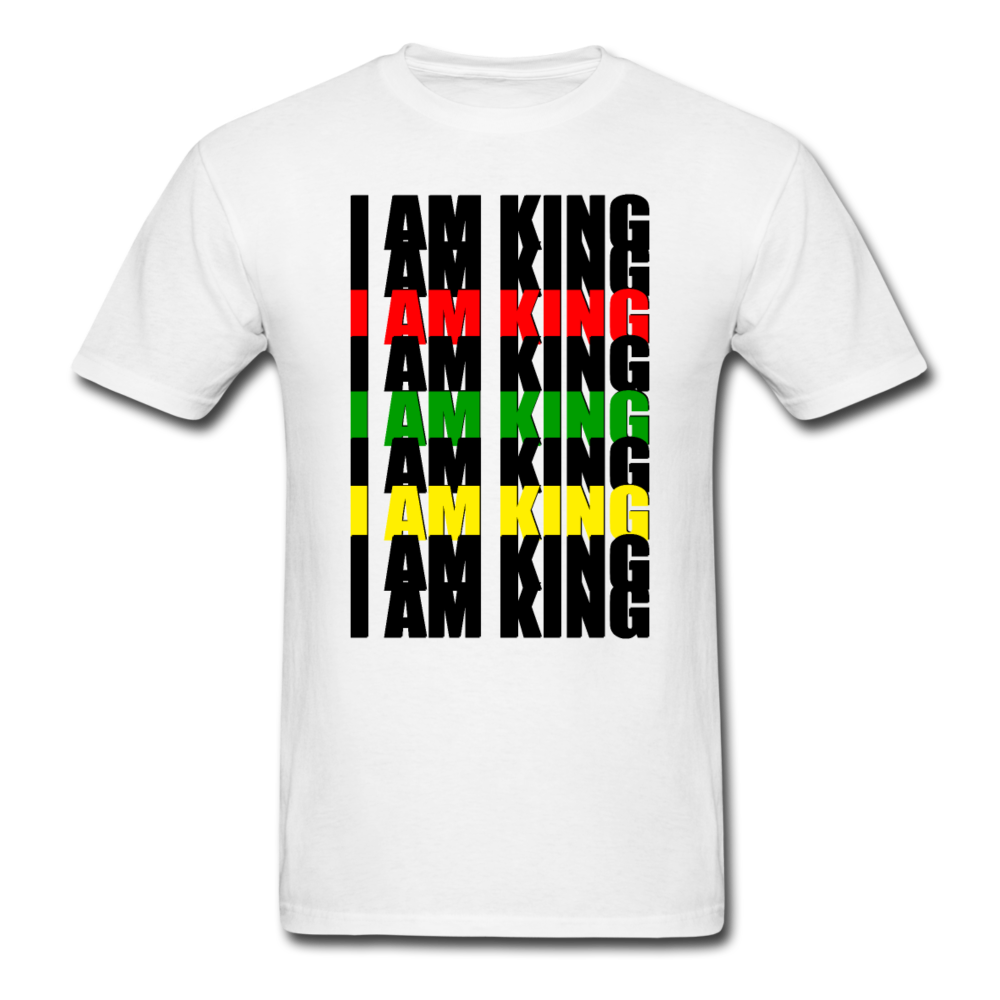 """I AM KING"" by Wisam mens T-shirt - SW@gSpot"
