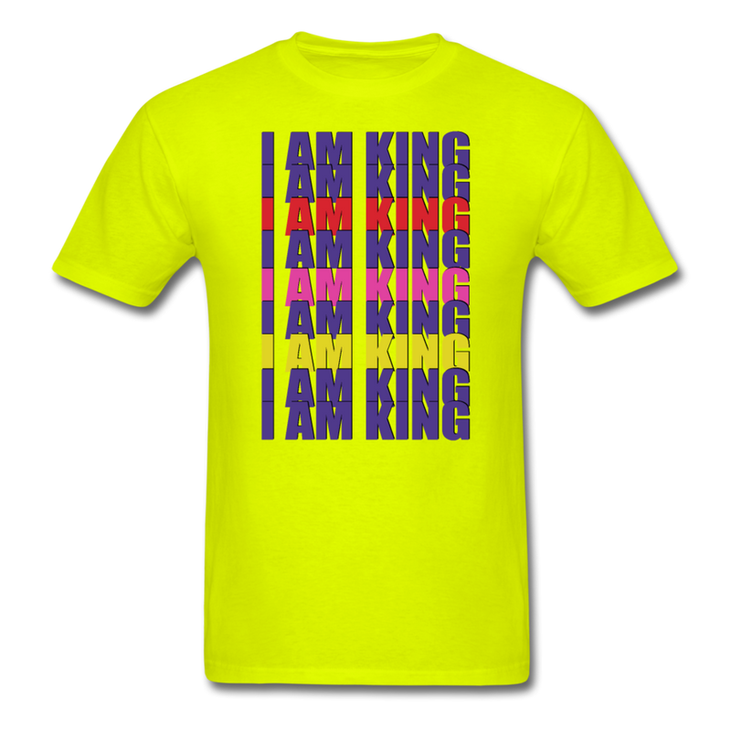 """I AM KING"" by Wisam Men's T-Shirt - SW@gSpot"