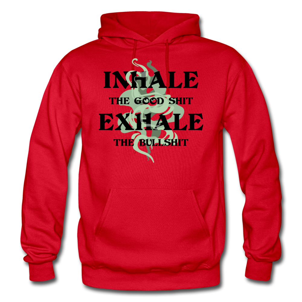 Inhale Exhale Unisex Adult Hoodie - SW@gSpot