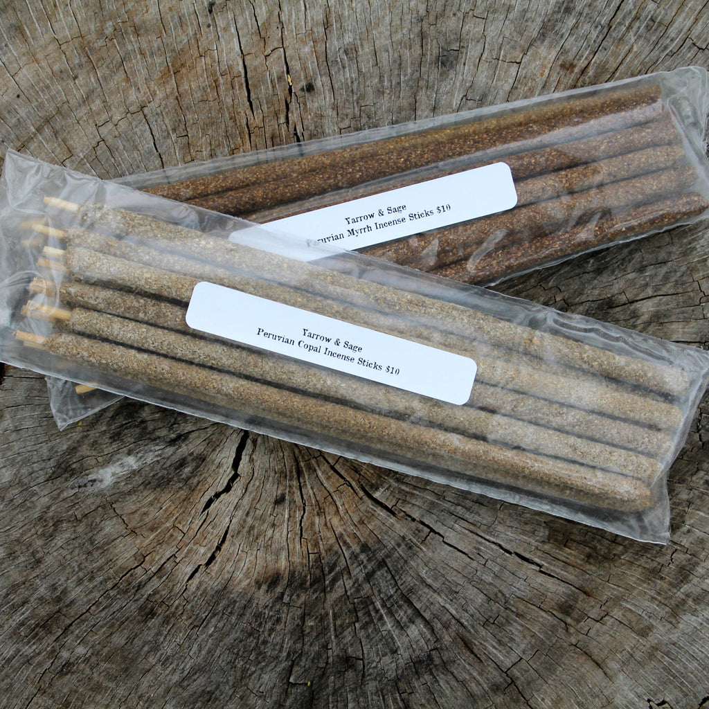 Incense Sticks - Peruvian Resin