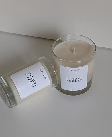 Hinoki Forest Candle / Available in Multiple Sizes