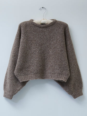 Atelier Delphine Balloon Sleeve Alpaca Sweater / Multiple Colors Available