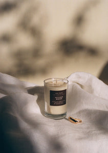 Vetiver Wood Candle / Available in 5oz & 8oz