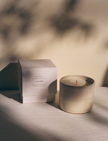 Living Candle / Available in White & Terracotta