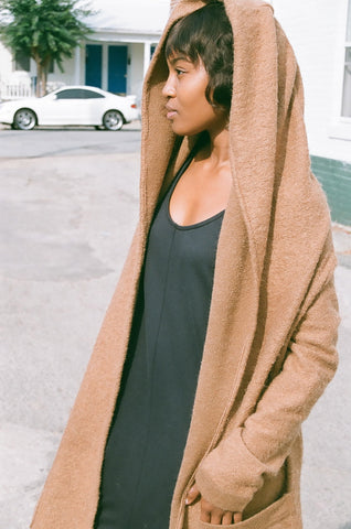 HACKWITH DESIGN HOUSE HOODED DUSTER