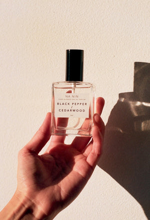 Black Pepper & Cedarwood Eau De Parfum / 2oz