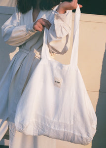 St. Agni Linen Market Tote / Available in Multiple Colors