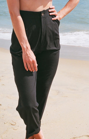 NA NIN OLIVER PANT AVAILABLE MULTIPLE COLORS & IN RAW SILK OR SILK LINEN