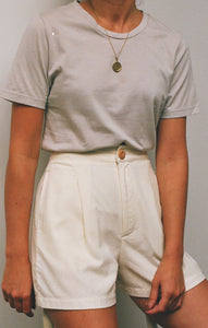 Calder Blake The Rampling Tee / Available in Linen and White
