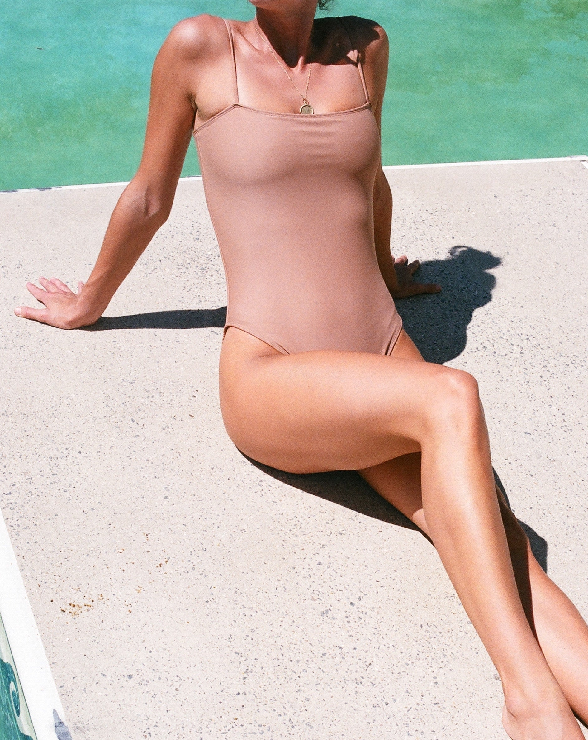 Nu Swim Straight One Piece / Available in Multiple Colors