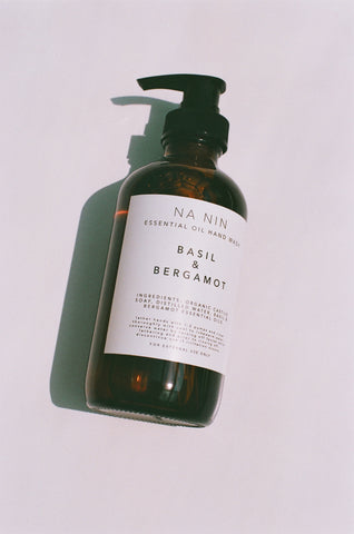 Basil & Bergamot Essential Oil Hand Wash