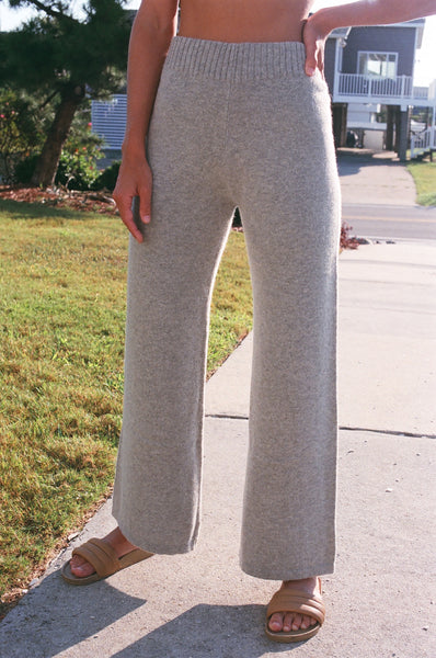 Micaela Greg A-Line Pant / Available in Cloud Grey & Midnight Blue