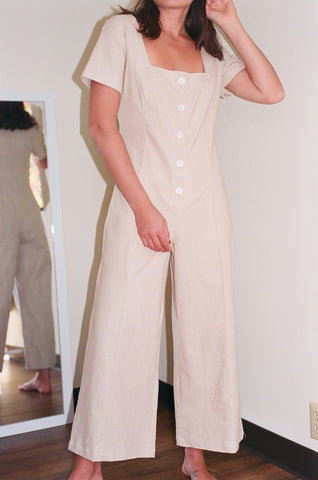 Lisa Say Gah Rita Jumpsuit / Available in Natural