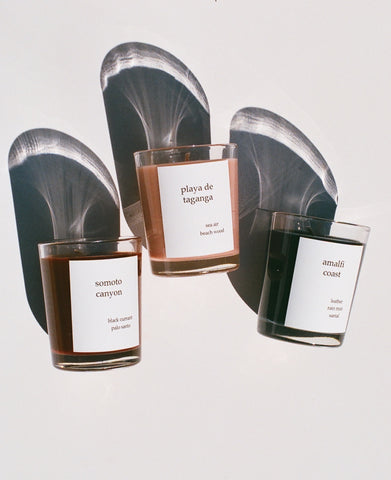 Na Nin Places Collection:  Votive Candle Trio Gift Set