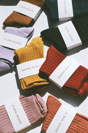 Le Bon Shoppe Socks / Available in Multiple Colors