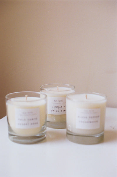 NA NIN 8oz PAIRINGS CANDLES : MULTIPLE SCENTS AVAILABLE