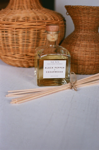 Black Pepper & Cedarwood Reed Diffuser