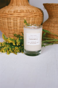 Farewell Candle / Available in 5oz & 8oz