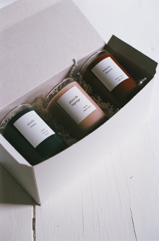 Na Nin Places 5oz Candle Trio