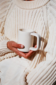 Summer School Cordage Mug / Available in Cream