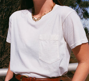 Calder Blake Crop Jaq Tee / Available in Multiple Colors