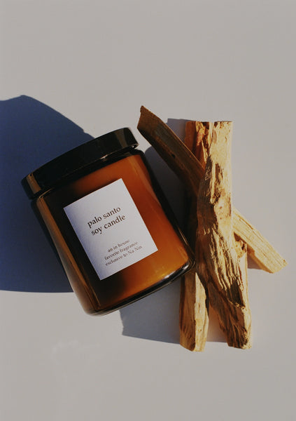 In House Palo Santo 8oz Soy Candle