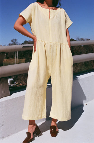 Ilana Kohn Bette Jumpsuit / Mellow Linen