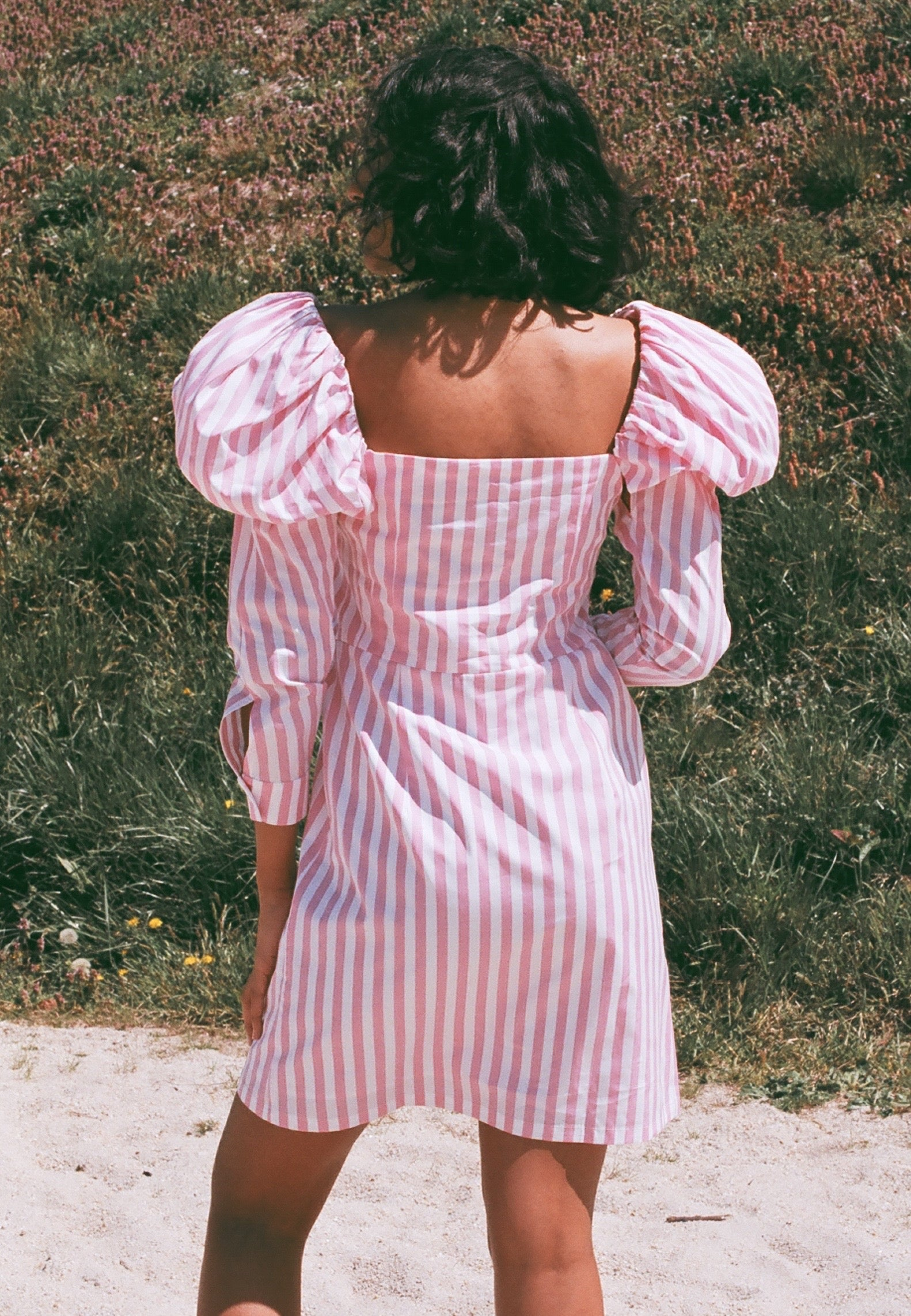 Mr. Larkin Penelope Dress / Pink Stripe