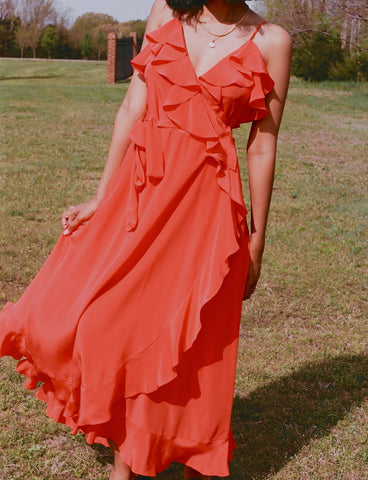 Beatrice Valenzuela Alcatraz Dress / Poppy Silk