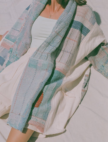 Atelier Delphine Well Traveled Haori Coat