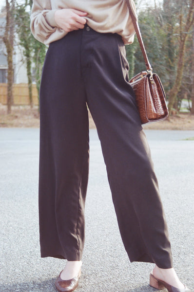 Hackwith Design House Wide-Leg Trouser Pant