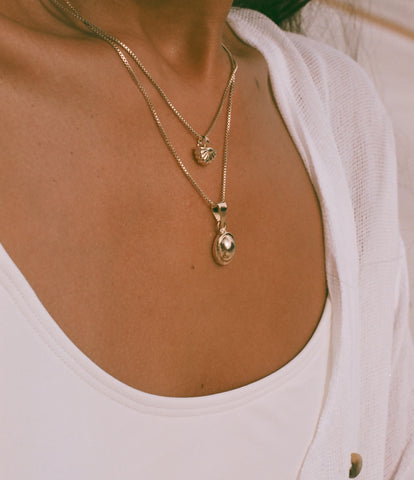 Mini Shell Pendant Necklace