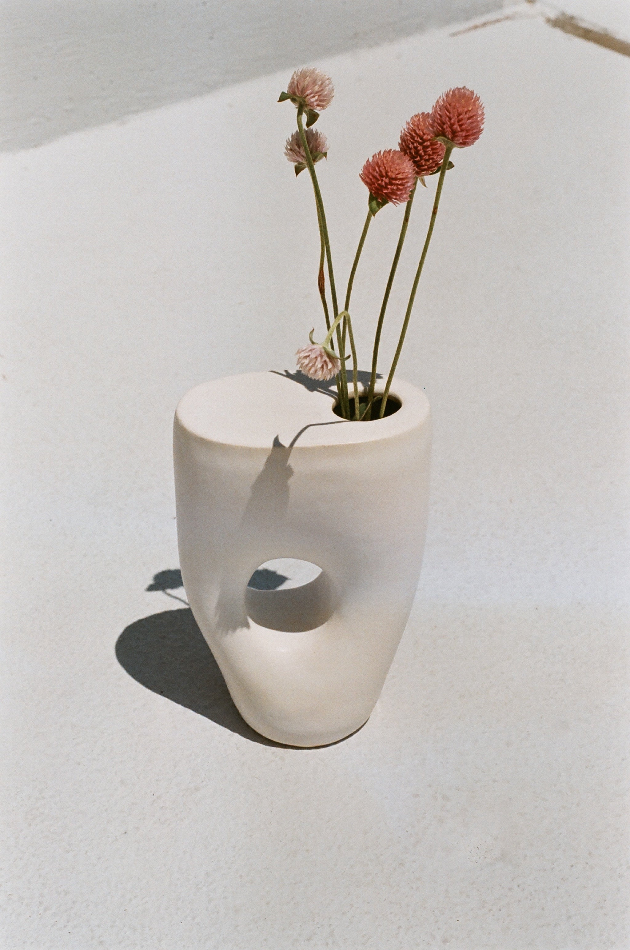 Summer School Sculptural Ikebana Vase