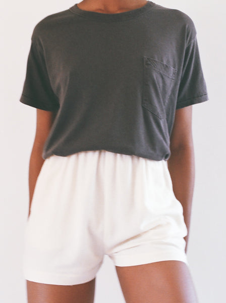 Calder Blake Crop Jaq Pocket Tee / Available in Multiple Colors