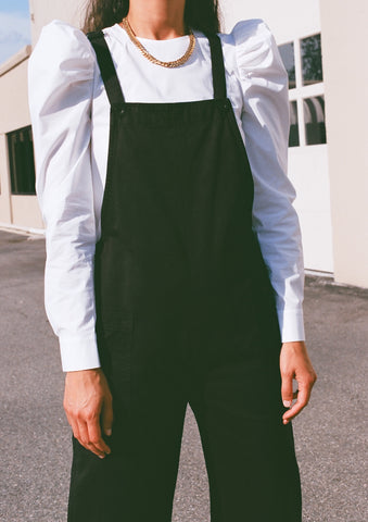 Ali Golden Overall Jumper / Black