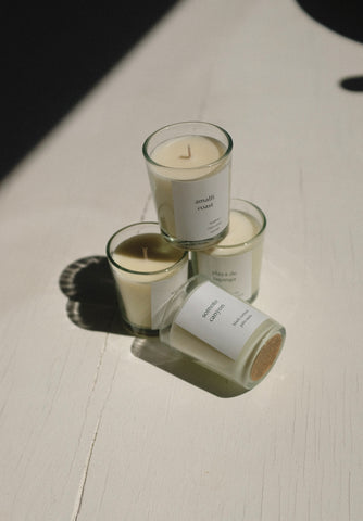Na Nin Places Collection: Complete Four Votive Candle Gift Set