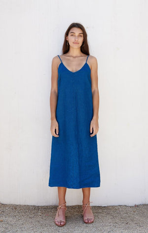 First Rite V Camisole Dress / Linen