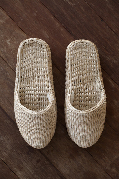 HOUSE DRESS / PLATFORM HOUSE SLIPPER