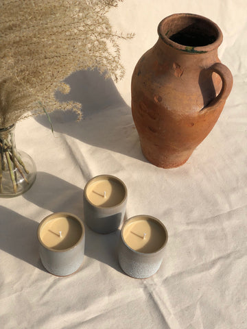 Na Nin Places Collection: Uyuni Desert Moon Vessel Candle