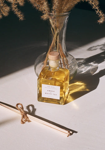 Amber & White Tea Reed Diffuser