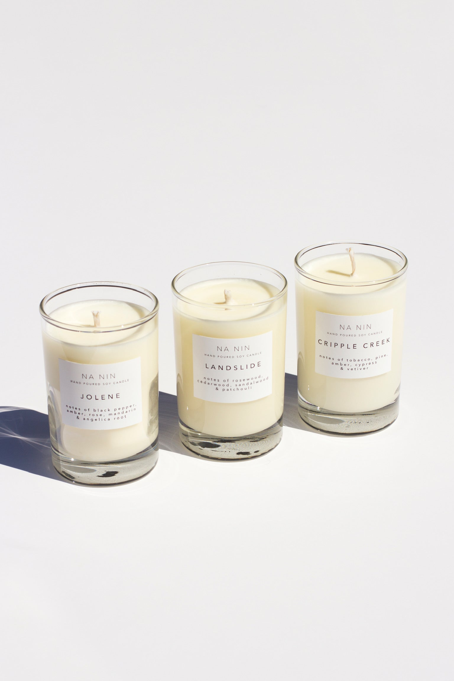 Signature Collection 5oz Candle Trio Set 1