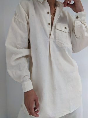 Vintage Banana Republic Cream Tunic